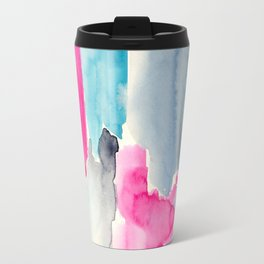 Fragmentation || watercolor Travel Mug