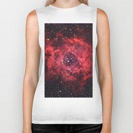 Rosette Nebula Biker Tank
