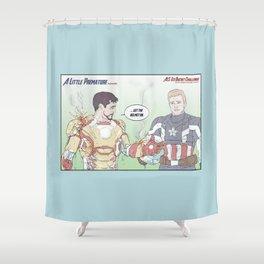 A Little Premature Shower Curtain