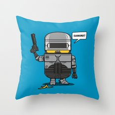 Despicable Law Enforcer Throw Pillow