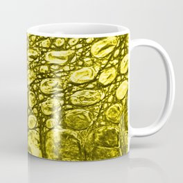 Yellow crocodile Coffee Mug