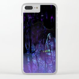 The Witches Haunt Clear iPhone Case