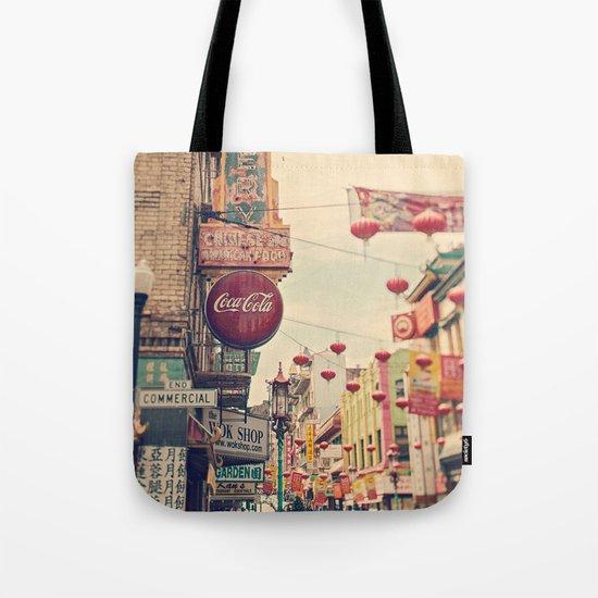 Chinatown (San Francisco) Tote Bag