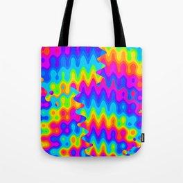 Amazing Acid Rainbow Tote Bag