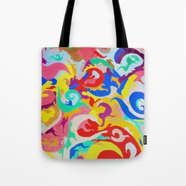 Filtered Swirl 1 Tote Bag