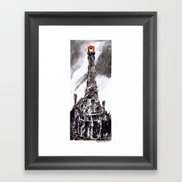 The Great Eye Framed Art Print
