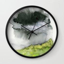 Summer's Rain Wall Clock