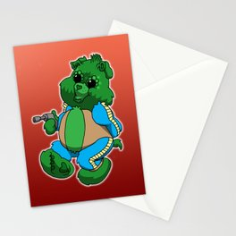 greedo bear Stationery Cards