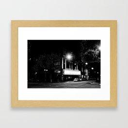 Georgia Theatre Framed Art Print
