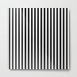 Black and white line #society6 #decor #buyart #artprint Metal Print