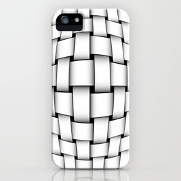 intertwined bands iPhone Case