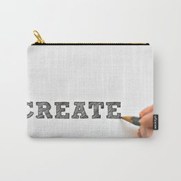 Create Saying Carry-All Pouch
