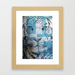 Tiger of Life Framed Art Print