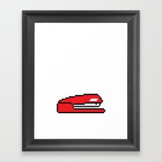 Pixel Space Framed Art Print
