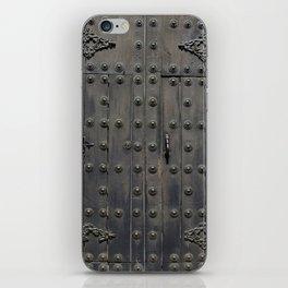 Old Black Door iPhone Skin