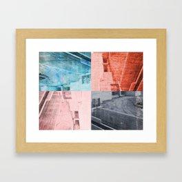 Popart Building Framed Art Print