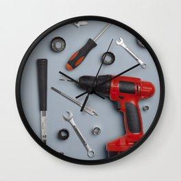 Still Life #3: Grey Wall Clock