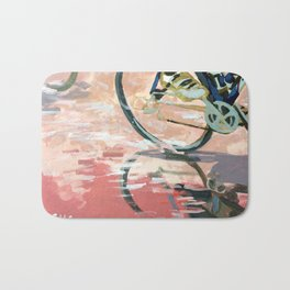 Into the Pink Bath Mat