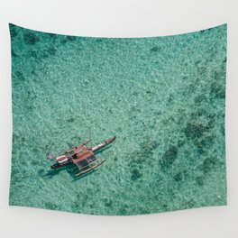 Outrigger in Hawaii Wall Tapestry