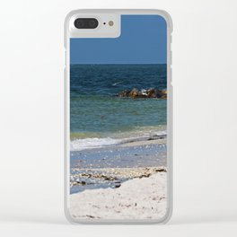 In the Air I Breathe Clear iPhone Case