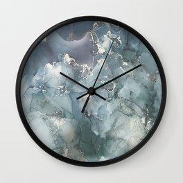Star Theory Blue Wall Clock