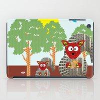 kangaroo iPad Cases featuring Kangaroo by Design4u Studio