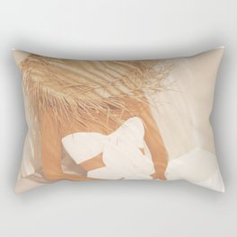 Summer Reading II Rectangular Pillow