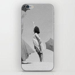 Umbrella ballet iPhone Skin
