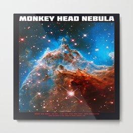 Monkey Head Nebula v.2 Metal Print