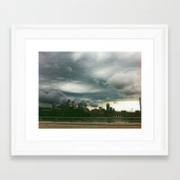 minneapolis Framed Art Prints featuring minneapolis by sara montour