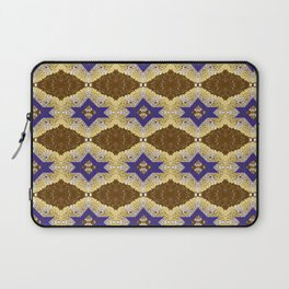 Blue and Brown by Melissa Brown Laptop Sleeve