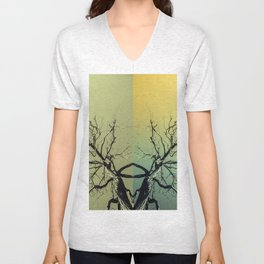 Unknown Ghost of the Forest Unisex V-Neck