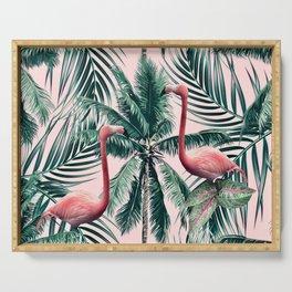 Flamingo tropics Serving Tray