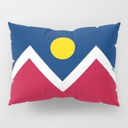 Denver, Colorado city flag - Authentic High Quality Pillow Sham