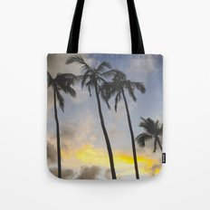 Sunset of the Palms Tote Bag