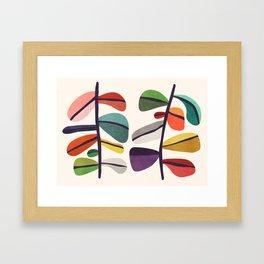 Plant specimens Framed Art Print