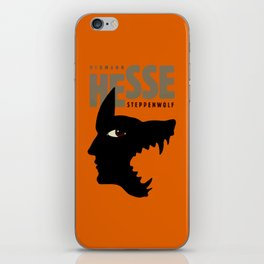 Sacred Geometry for your daily life - HHESSE STEPPEN WOLF iPhone Skin