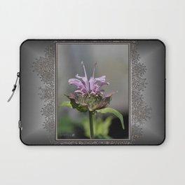 Bee Balm named Panorama Lavender Laptop Sleeve