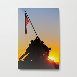 Believe in America Metal Print