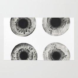 Charcoal Eye Contact Rug