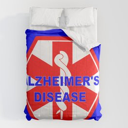 Alzheimer dementia medical identification ID tag Comforters