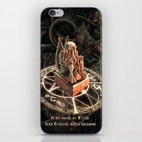 cthulhu iPhone & iPod Skins featuring Cthulhu by TheMagicWarrior