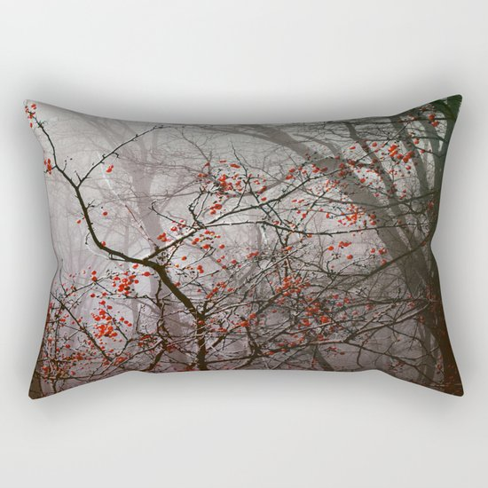 Forest of Red Rectangular Pillow