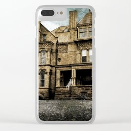 Haunted Hauntings Series - House Number 2 Clear iPhone Case