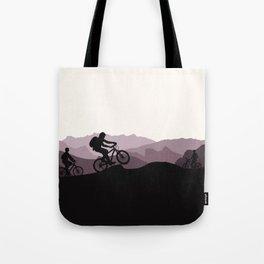 MTB Mountains Tote Bag