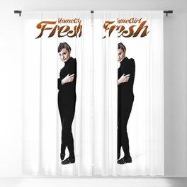 Audrey Hepburn HomeGirl Fresh Blackout Curtain