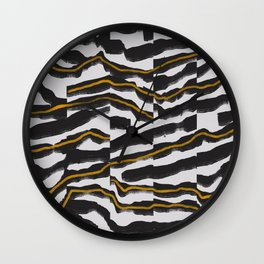 Abstract Composition 22 Wall Clock