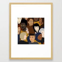 Women, Together Framed Art Print