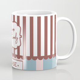 Take me to the Candy Shop - Cute Storefront Design Coffee Mug