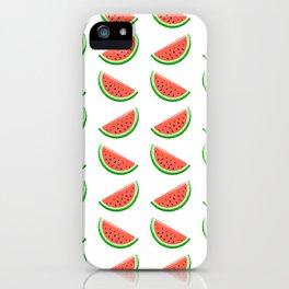 Marvellous Melon Slices Repeat Pattern iPhone Case